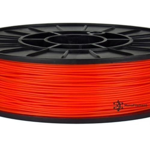 ABS+ пластик червоний флюросцентний (MonoFilament)