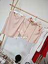 Амбер летний женский льняной костюм с шортами С-ка бежевый, фото 2