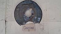 Кожух защита заднего тормозного диска Mitsubishi Carisma Каризма 2000 г.в., M 814817, M814871, M814870