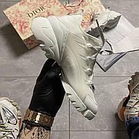🔥 ВИДЕО ОБЗОР🔥 Christian Dior D-connect Диор Кристиан Д Коннект Белый 🔥 Диор женские кроссовки 🔥