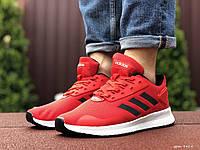 Чоловічі кроссовки Adidas червоний / білий. [Розміри в наявності: 41,42,43,44,45], фото 1