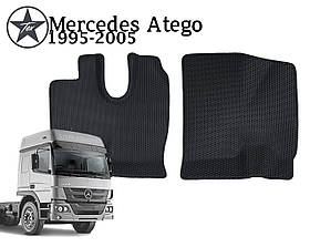 Коврики EVA в салон Mercedes Atego 1995-2005. Star-Tex.