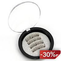 Накладные ресницы на магнитах Magnetic Eyelashes Черные (987410)