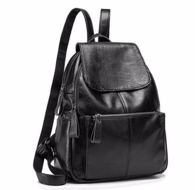 Женский кожаный рюкзак Tiding Bag t3126