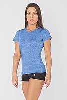 Женская спортивная футболка Radical Capri SG L Голубая (r0844)