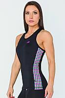 Женская спортивная майка Radical Reaction II Tank Top с ромбами L (r0856)