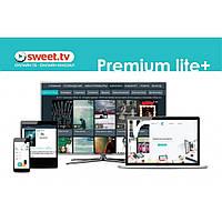 Карта активации SWEET.TV Пакет Premium lite Plus, период на 6 мес. (TRINITY_PLplus_06)