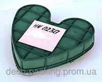 Сердце на присосках для свадебного авто ASSA (D - 23 см)