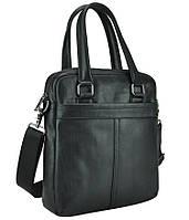 Мужская кожаная сумка через плечо с длинными кожаными ручками Tiding Bag 8051A, фото 1