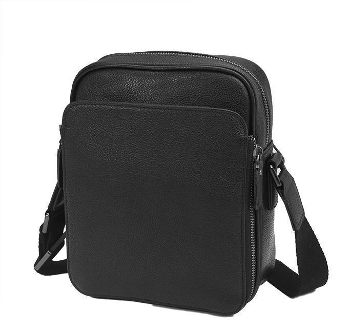 Мужская сумка через плечо из натуральной кожи Tiding Bag M47-22005-2A
