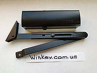 Доводчик дверной GEZE TS 1500 c фиксацией Черный оригинал Германия