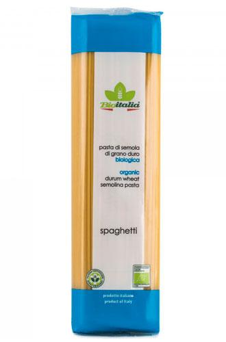 "Макаронні вироби ""Spaghetti"" 500г ТМ Bioitalia"