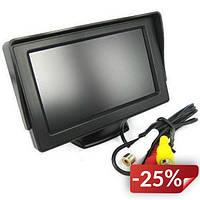 Монитор для камеры заднего вида Terra LCD Color 5 дюймов Черный (FL-21)