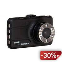 Видеорегистратор DVR T660+ Full HD 1080p с камерой заднего вида Черный (FL-68)
