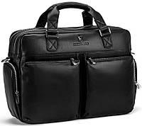 Большая вместительная кожаная сумка для командировок Royal Bag RB002A, фото 1