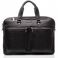 Сумка-портфель мужская кожаная для документов элитная Blamont Bn001A, фото 1