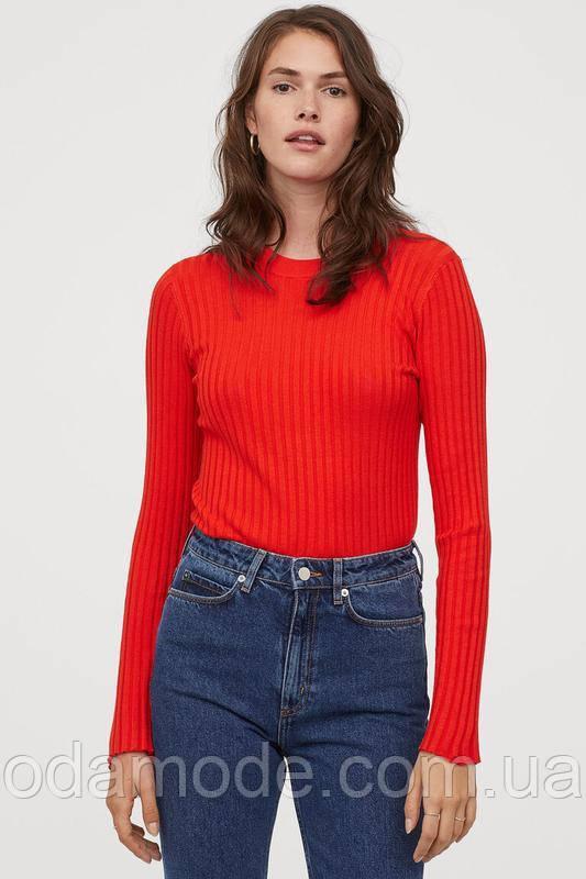 Гольф женский H&M красный