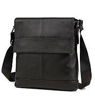Мужская сумка через плечо натуральная кожа Tiding Bag M38-8136A, фото 1