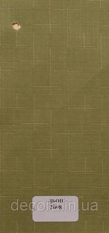 Рулонні штори Міні Len 2098 40см., фото 2