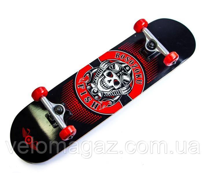 Деревянный скейтборд SKATEBOARD BOSOZOKU, 79*20 см, клён