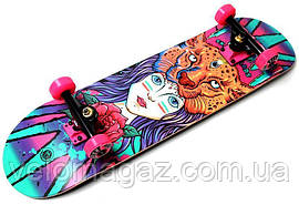 Деревянный скейтборд GIRL, 79*20 см, клён