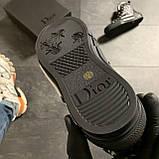 🔥 ВИДЕО ОБЗОР🔥 Dior B23 High-Top Sneakers Black Диор Кристиан Б23 Черный 🔥 Диор женские кроссовки 🔥, фото 3