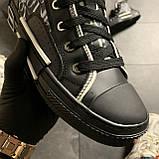 🔥 ВИДЕО ОБЗОР🔥 Dior B23 High-Top Sneakers Black Диор Кристиан Б23 Черный 🔥 Диор женские кроссовки 🔥, фото 2