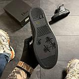 🔥 ВИДЕО ОБЗОР🔥 Dior B23 High-Top Sneakers Black Диор Кристиан Б23 Черный 🔥 Диор женские кроссовки 🔥, фото 4