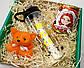 Подарочный набор для самой рыжей: бутылка для воды, консервированные носочки и игрушка-талисман, фото 2