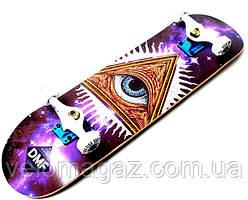 Деревянный скейтборд MASON, 79*20 см, клён