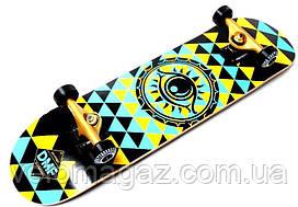 Деревянный скейтборд EYE DMF, 79*20 см, клён