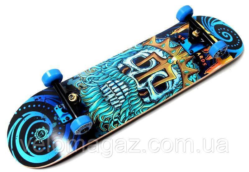 Деревянный скейтборд NEPTUNE, 79*20 см, клён