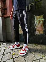 Мужские укороченные спортивные штаны Adidas Line (реплика)