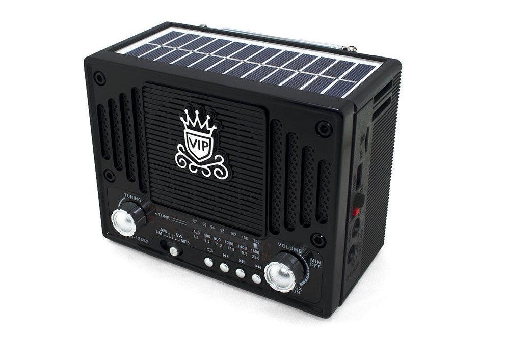 Радиоприемник NS 1555 с солнечной панелью 178621