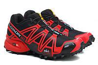 Кроссовки Salomon Speedcross 3 red-black