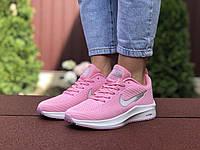 Жіночі кроссовки Nike Flyknit Lunar 3 рожевий / білий. [Розміри в наявності: 36,37,40,41], фото 1