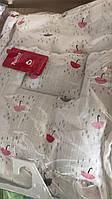 Детский набор в коляску Twins муслиновый (плед, подушка, наматрасник на резинке)