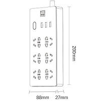 Сетевой фильтр Xiaomi Aigo Power Strip TC0631 (6 розеток, 3 USB), фото 7