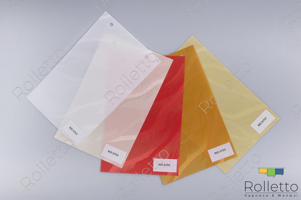"""Тканинні ролети вертикальні з тканини """"RIO"""""""
