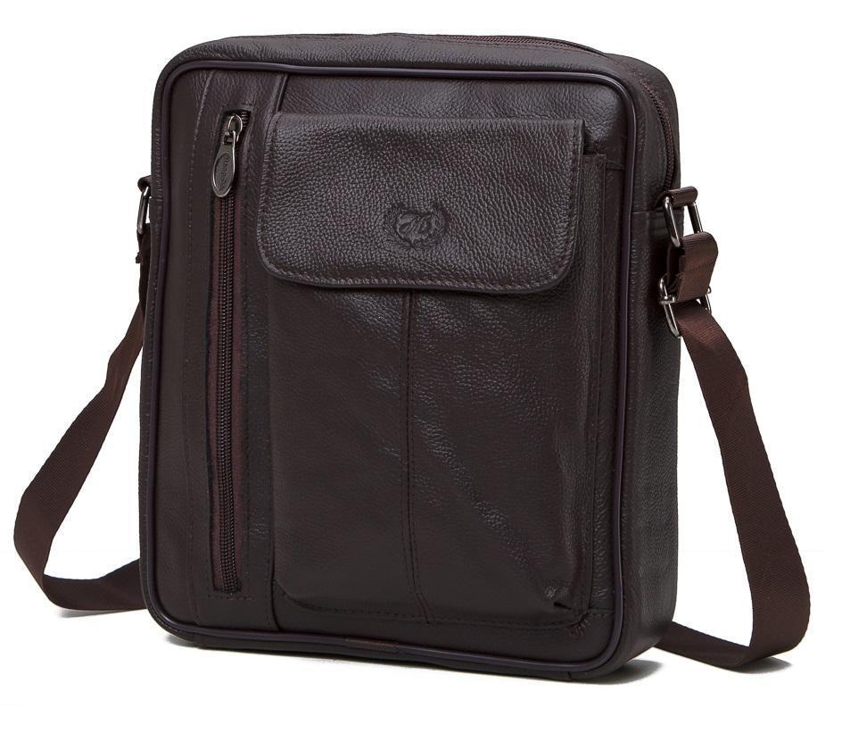 Мессенджер HD Leather NM24-106C
