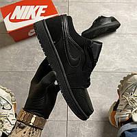 🔥ВИДЕО ОБЗОР 🔥 Кроссовки Nike Air Jordan 1 Low Black Найк Аир Форс Джордан 🔥 Найк мужские кроссовки 🔥