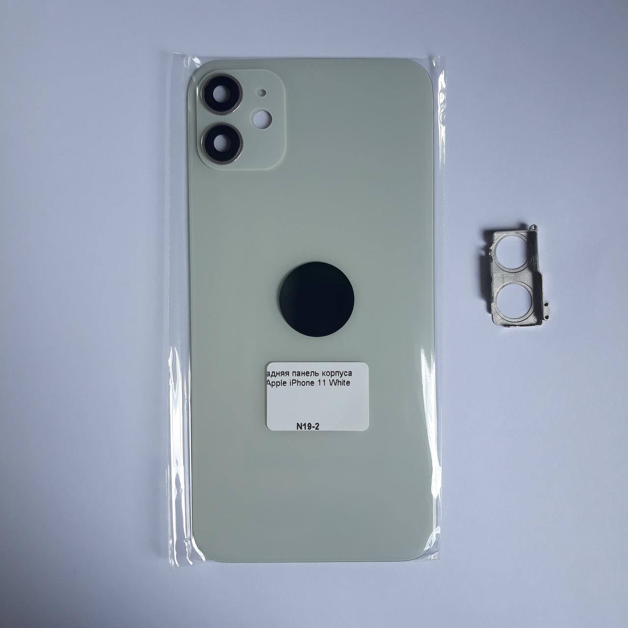 Задняя панель корпуса Novacel для Apple iPhone 11 White