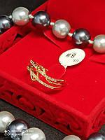 Кольцо женское медицинское золото XUPING позолота