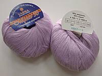 Пряжа для вязания YARNA Мерино 50  сиреневый 43247