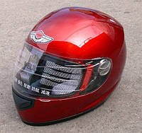 Шлем  Красный  AD-178