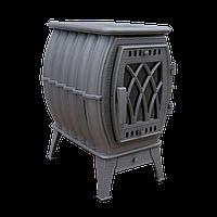 """Чугунная печь-камин отопительно-варочная """"Бахта"""" (до 360 м3)"""