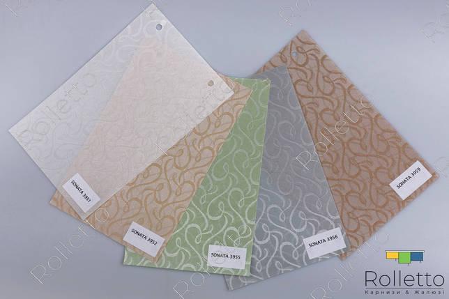 """Тканинні ролети вертикальні з тканини """"SONATA"""", фото 2"""