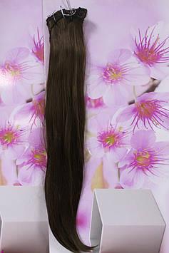 Волосся на заколках штучні термоволокно прямі русявий