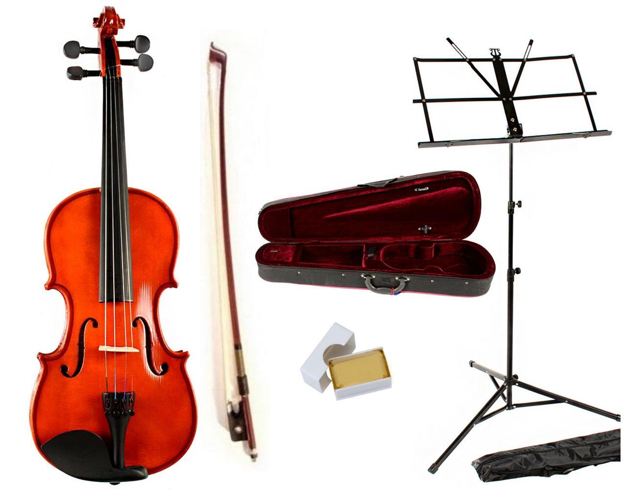 Скрипка Rafaga AC+ пюпітр, учнівський набір