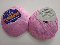 Пряжа для вязания YARNA Мерино 50  розовый 3141